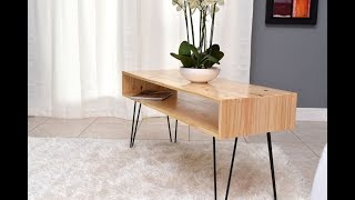 How to Build a Coffee Table - 10 Easy And Cheap DIY Projects