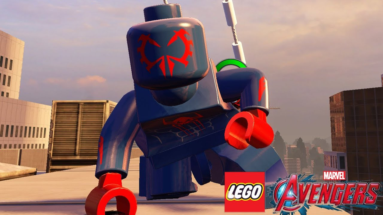 lego spiderman 2099 - photo #32
