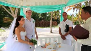 Свадьба в Доминикане, Даниил и Ксения