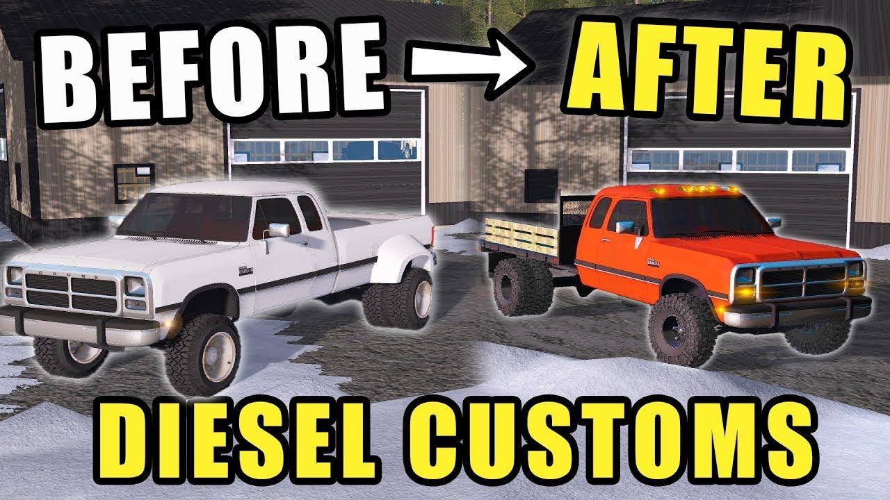 new-business-custom-diesel-repair-shop-our-first-truck-farming-simulator-2017
