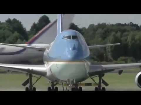 G20 SUMMIT NEWS  US President Donald Trump arrives in Hamburg Germany for G20 Summit 2017