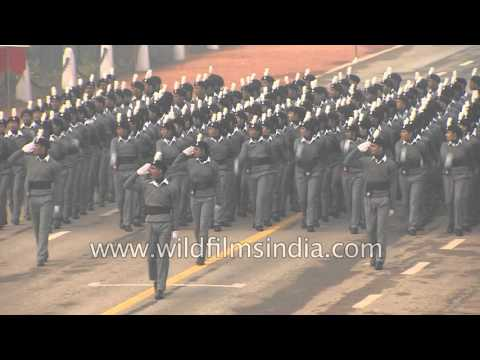 NSS contingent marches on Rajpath on Republic Day