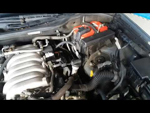 Lexus LS430 inlet refit and first start, spark plug and O2 sensor  replacement