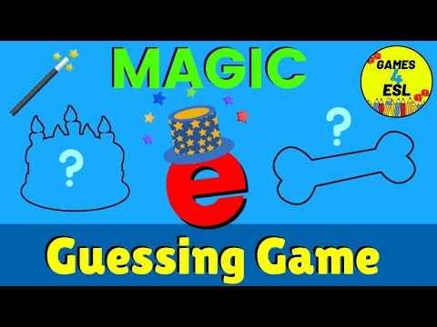 Magic E Guessing Game | Fun Phonics Game