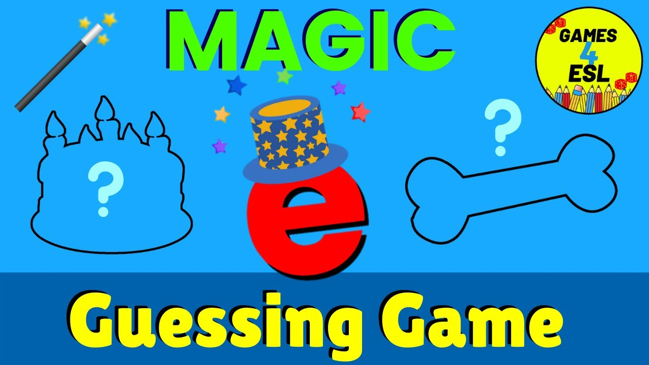 small resolution of Magic E Guessing Game   Fun Phonics Game - YouTube
