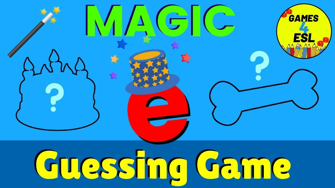 medium resolution of Magic E Guessing Game   Fun Phonics Game - YouTube