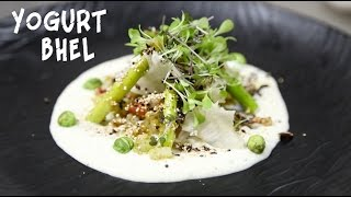 Gourmet Bhel Salad With Wasabi Yogurt Recipe on Food i.e
