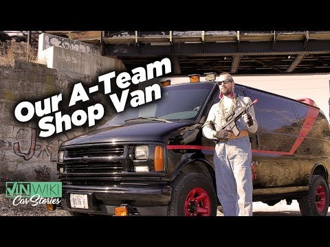 I turned our shop van into the A-Team Van