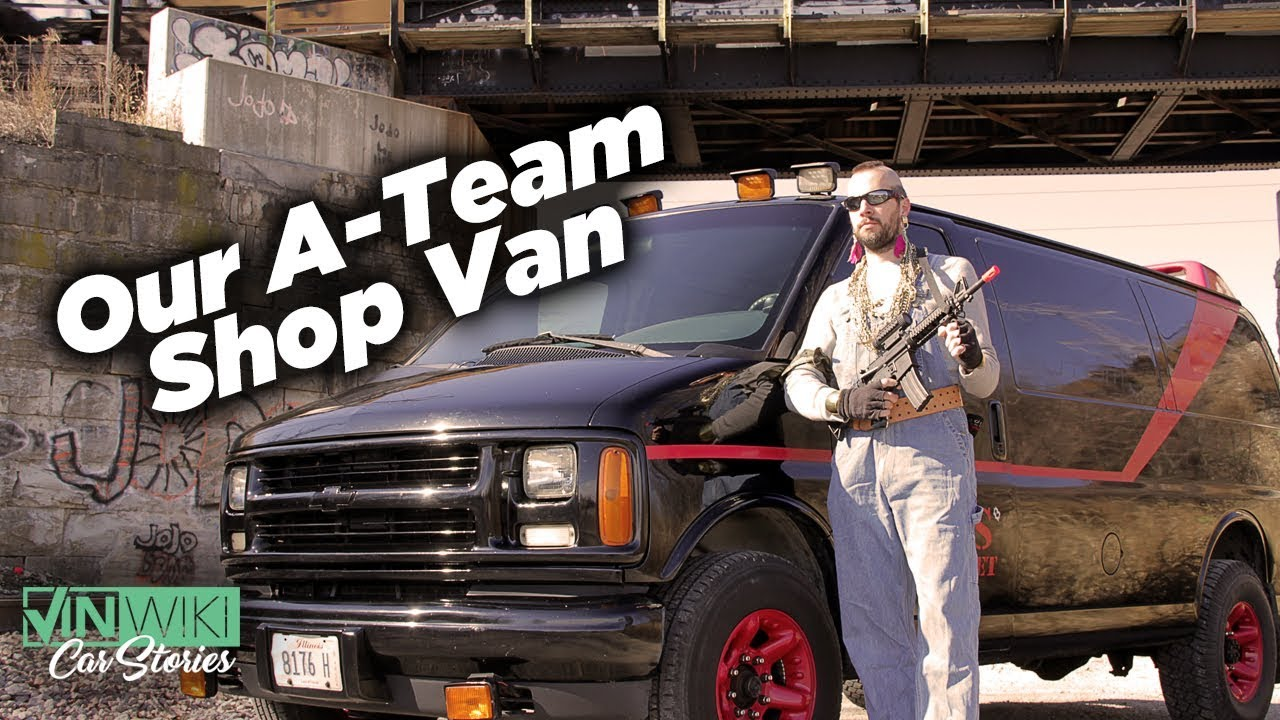 A Team Into i turned our shop van into the a-team van