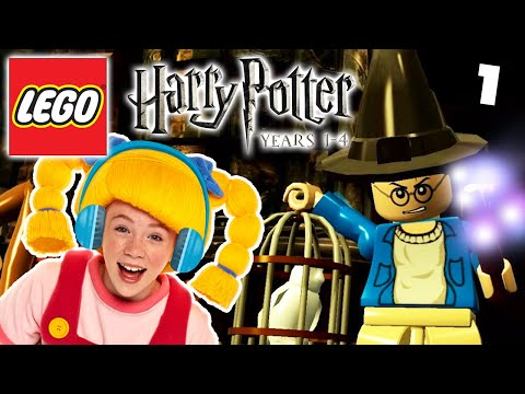 LEGO: Harry Potter Years 1-4 EP1 | Mother Goose Club Let's Play
