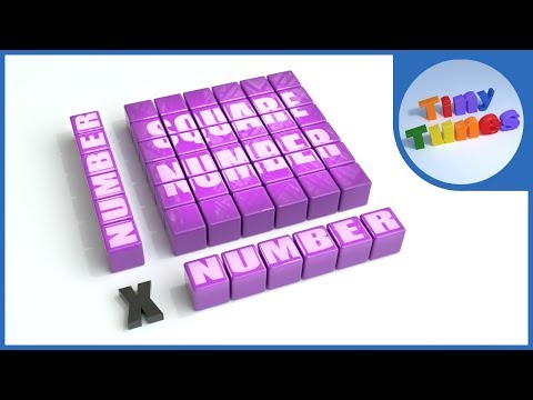 Square Numbers Song For Kids | Tiny Tunes