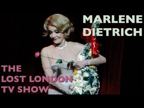 Marlene Dietrich: The Lost London TV Show! 1972. Mp3
