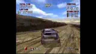 Sega Rally 2 Gameplay Sega Dreamcast