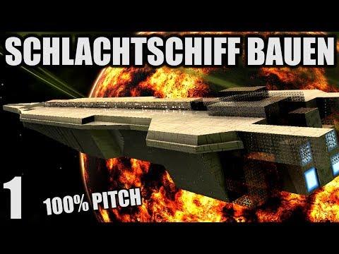 Riesiges Schlachtschiff bauen -1- Avorion   Let's Play Deutsch