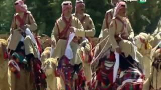 العرض العسكري في ساحة الراية بمناسبة زيارة خادم الحرمين الشريفين للمملكة الأردنية الهاشمية