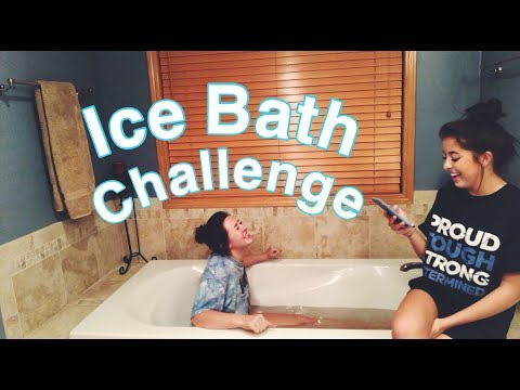ICE BATH CHALLENGE!   Kenna & Renee