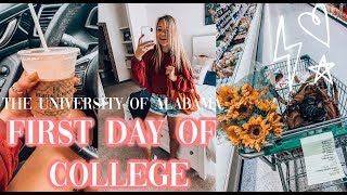 FIRST DAY OF COLLEGE | The University of Alabama