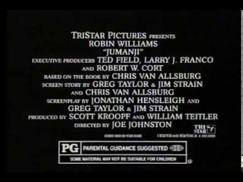 Download Jumanji Movie Trailer 1995 - TV Spot