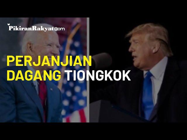 Gagalkan Jalan Donald Trump, Joe Biden Tak akan Langsung Batalkan Perjanjian Dagang dengan Tiongkok
