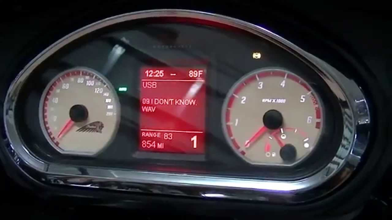 In Dash USB Port And Music Playing Options For Indian Chieftain