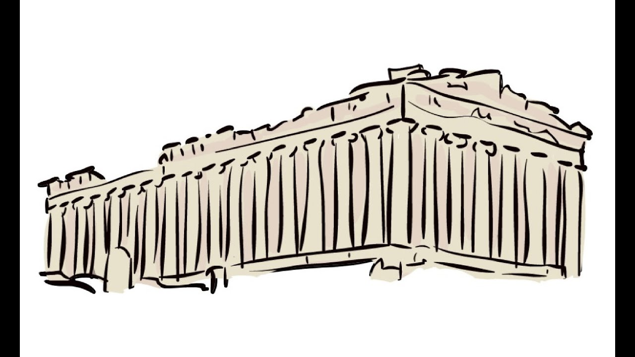 How to Draw an Acropolis      YouTube