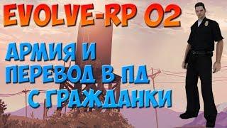 EVOLVE-RP 02   ЛВа, перевод в ЛВПД с гражданки.
