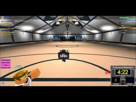 Roblox Lets play Professional Basketball