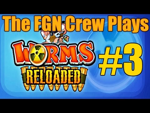 The FGN Crew Plays: Worms Reloaded #3 - Spiney Revenge (PC)