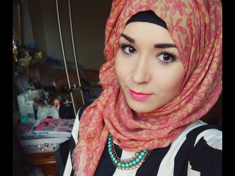 hijab tutorial l everyday style normal twist back