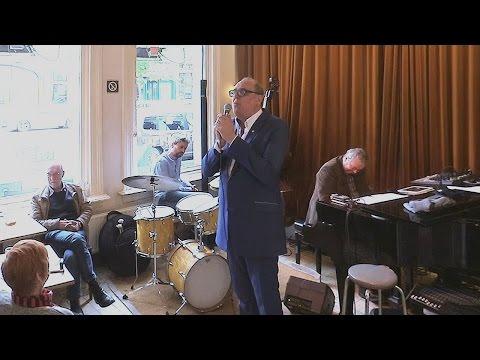 2017 Harry Happel with Ronald Douglas - Hopper Jazz Antwerpen