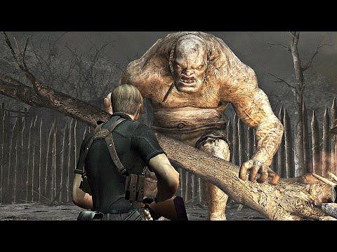 Resident Evil 4 - El Gigante Boss Fight (4K 60FPS)