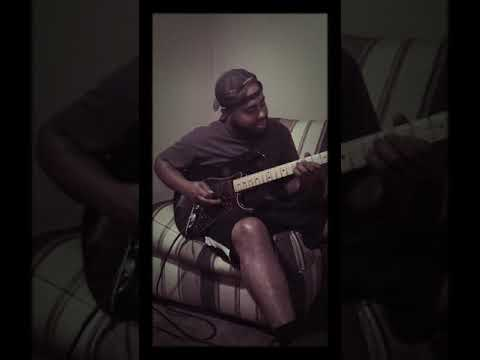 Just messing around at home - beautiful guitar playing by tc carter