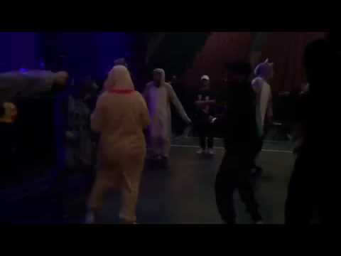 Sia and the crew dancing (from sias insta)