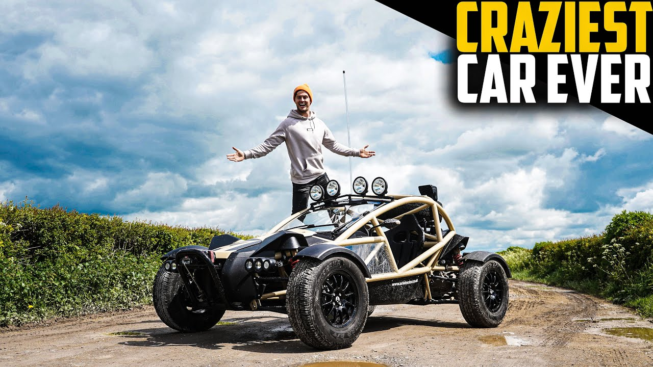 IS THIS MY NEXT CAR? DRIVING THE INSANE ARIEL NOMAD!!