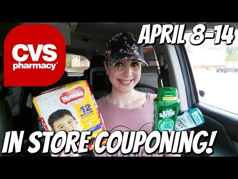 CVS IN STORE COUPONING 4/8/18-4/14/18!  MM SPEED STICK/FREE GLISS & IRISH SPRING! DEALS GALORE!
