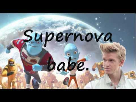 Shine Supernova - Cody Simpson (Lyrics Video) (Escape from Planet Earth theme song)
