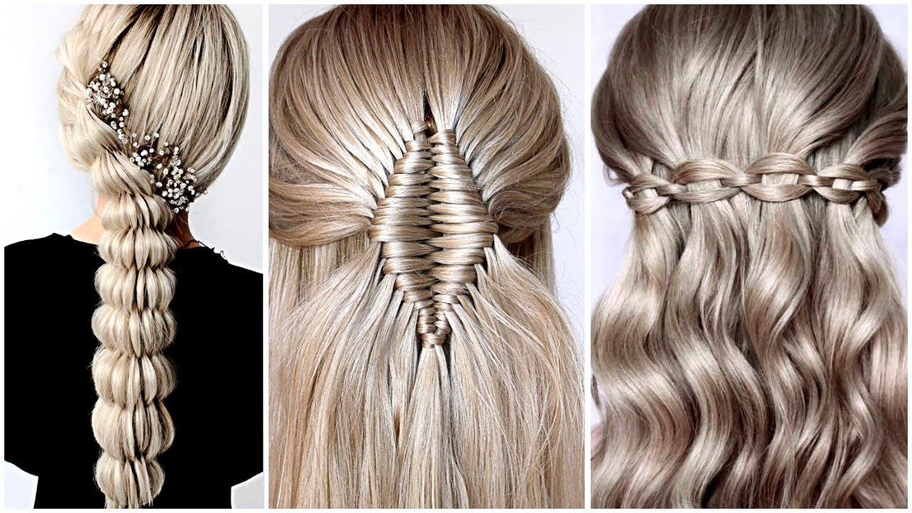 😱 4 Easy Braid Hairstyle Tutorial 😍 Hairstyle Transformations