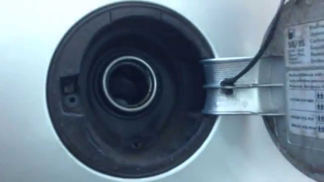 Vw Golf Mk4 How To Remove Fuel Filler Flap Youtube