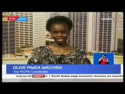 Top of her class: Olive Mwea Wachira speaks on her journey to victory