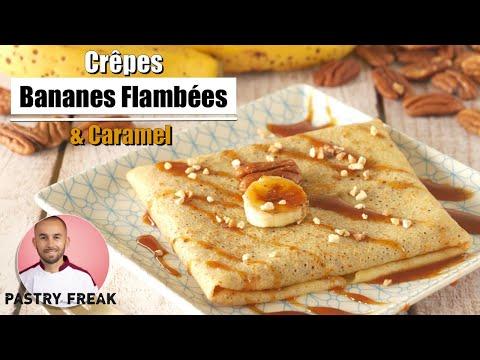 crÊpes-banane-caramel---pÂte-a-crÊpes