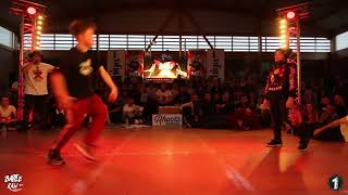 BBOY ANTHONY (Holland) vs BGIRL TERRA (England) | 1on1 Semi-Final Kids | BATTLE RAW CONCEP #7