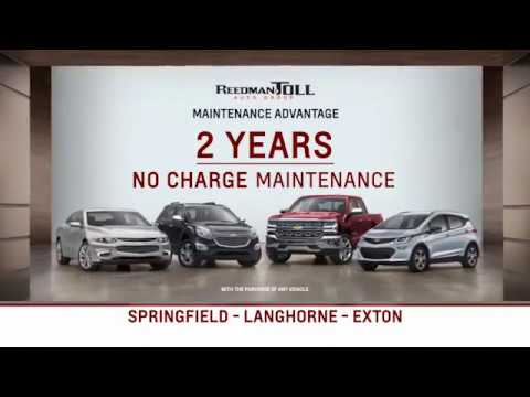 Reedman Toll Auto Group Chevrolet August Specials