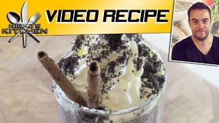 Oreo Milkshake - Nicko's Kitchen