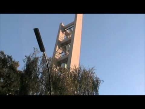 Berlin-Tiergarten: Vorabendläuten Römisch-katholische Kirche Sankt Ansgar