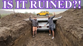 Digging Up A Rolls Royce Limousine - Will It Start?!