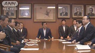 内閣改造と役員人事を11日実施 副大臣の人事は13日(19/09/03)