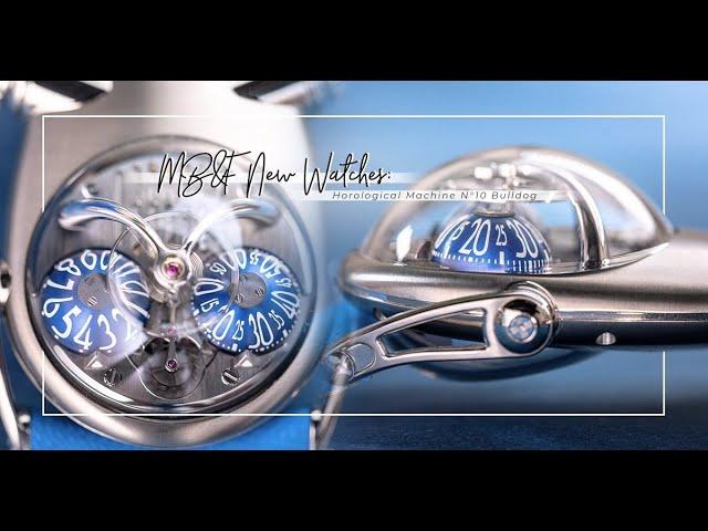 WatchTrend 2020:破格中求變!MB&F HM10 Bulldog鬥牛犬腕錶