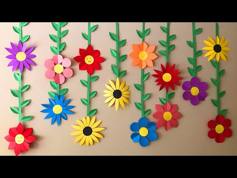 DIY Easy Party  Decoration |  Floral BackDrop  | Decoration ideas at home | #47 |