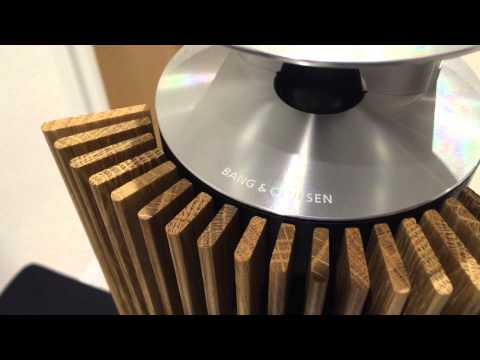 Testing my new Bang & Olufsen Beolab 18 speakers