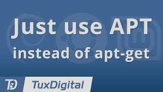 Simplify Your Command-Line with APT instead of apt-get